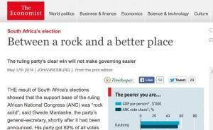 Economist 17 May 2014 SA elections